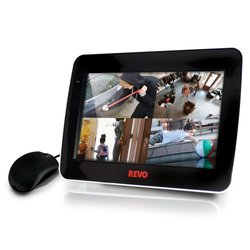 Revo 4 Channel Security DVR/Monitor Combo