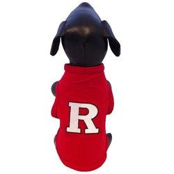 NCAA Rutgers Scarlet Knights Cotton Lycra Dog Tank Top, XX-Small