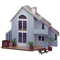 Greenleaf Brookwood Dollhouse Kit - 1 Inch Scale