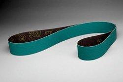 3M 577F Coated Alumina Zirconia Sanding Belt - 80 Grit - 2 in Width x 60 in Length - 30703 [PRICE is per BELT]