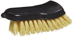 "Carlisle Sparta Curved-Back Utility Scrub Brush - Size: 6"""