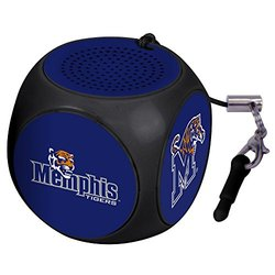 NCAA Memphis Tigers MX-100 Cubio Mini Bluetooth Speaker, Black, One Size