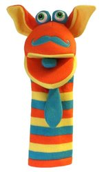 The Puppet Mango Hand Knitted Puppets Toy - Multi
