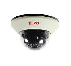 Revo Security Cams 1200 TVL Indoor Dome Surveillance Camera - White
