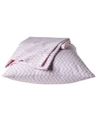 Pillowfort Chevron Sheet 3 Pc Set - Pink - Size: Twin