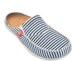 Spenco Women's Spenco Siesta Slide Montauk Shoes - Navy - Size: 9