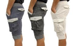 Decode Jogger Short: W/zipper-navy/xxl