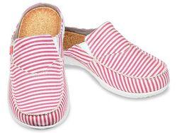 Spenco Women's Siesta Slide Montauk Shoes - Red - Size: 8