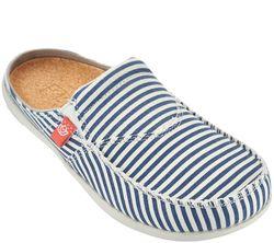 Spenco Women's Spenco Siesta Slide Montauk Shoes - Navy - Size: 6
