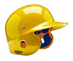 Schutt Sports Junior OSFM 2742 AIR PRO 4.2 BB Batter's Helmet, Gold