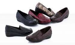 Rasolli Women's Clogs Shoe - Black/Croco - Size: 8