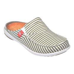 Spenco Women's Spenco Siesta Slide Montauk Shoes - Khaki - Size: 6