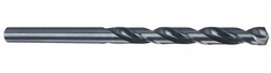 "Cleveland 3957 6 High Speed Steel Aircraft Extension Drill Bit, 6"" Overall Length, Uncoated (Bright), Round Shank, 135 Degree Split Point, Wire Size #5 (Pack of 12)"