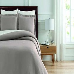 Soho New York Home Lafayette 2-Piece Duvet Set - Taupe - Size: Twin