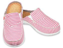 Spenco Women's Siesta Slide Montauk Shoes - Red - Size: 7