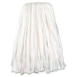 Unisan BW220 Nonwoven Cut End Edge Mop Rayon/Polyester 20 Oz - White