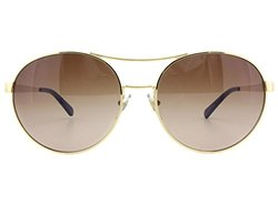 Tory Burch Sunglasses: Gold/brown Gradient