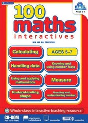 Didax 100 Interactive Math Activities CD, Grade 1-2