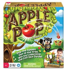 Wonder Forge Apple Pop Game Board for 2 Player