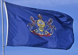 Allied Flag Outdoor Nylon State Flag, Pennsylvania, 4-Foot by 6-Foot