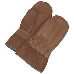 Bob Dale Split Leather Hi Heat Gauntlet Mitt w/ Banox Lining -Brown - Sz:1