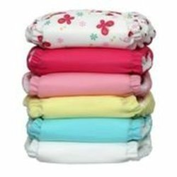 Charlie Banana 2-in-1 Baby Diapers - Butterfly - Pack of 6 - Size: One