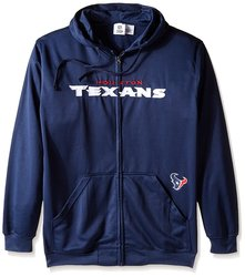 NFL Men's Full Zip Poly HD Sweatshirt - Houston Texans - Size: 2X/Tall