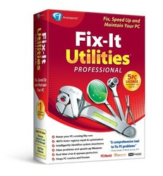 Fix-It Utilities 12 Prof. PC Maintaince Software for Windows XP/7/Vista