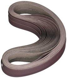 """3M 341D 6""""x48"""" P60-Grit Aluminum Oxide Cloth Belt - Pack of 20"""