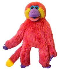 The Puppet Colorful Monkeys Puppet Toy - Coral
