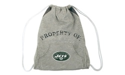 Little Earth NFL Hoodie Cinch Bag - New York Jets