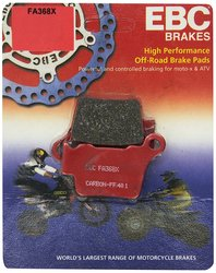 EBC Brakes Carbon Graphite Disc Brake Pad (FA368X)