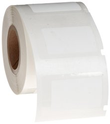 """1.25x0.75"""" H Matte Permanent Polyester PermaShield labels -250/Roll -White"""