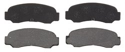 ACDelco Professional Organic Rear Disc Brake Pad Set