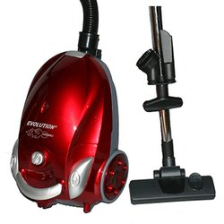 NaceCare Dust Care Evolution Fireball Canister Vacuum Cleaner - Red