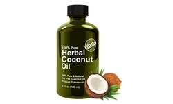 Natural Herbal Coconut Oil - 2.5 fl. oz.