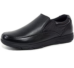Arbete Leather Work Black Shoes-9