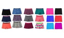 6 Pack Activewear Shorts Mystery Deal: Medium