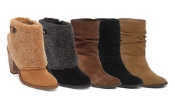Jessica Simps on Women's Gilford and Cassley Boots - Bain Tan - Size: 8.5