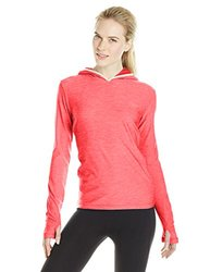Helly Hansen Women's Aspire Flex Hoodie Shirt - Pink Heather - Size: Large