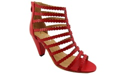 NyVip Women's Fashion Sandals - Red - Size: 9