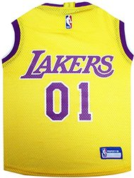 Officially Licensed Nba Pet Jersey: La Lakers/medium