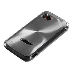 HTC Cosmo Back Protector Case Cover (Rezound) - Silver