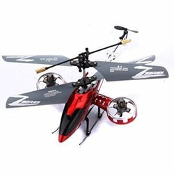 Avatar Z008 Kids F103-Like 4.5-CH RC Mini Helicopter Toy with Gyro - Red