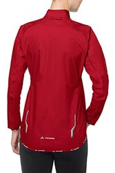 VAUDE Women's Drop III Jacket, Red, 44
