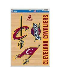 NBA Cleveland Cavaliers Multi-Use Decal Set