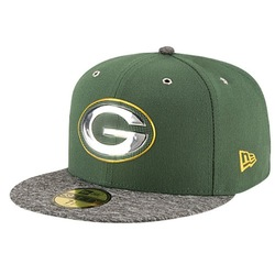 New Era NFL 59Fifty On Stage Cap - Men's Green Bay Packers - Size: 8