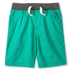 Cherokee Toddler Boys' Chino Short - Tropic Green - Size: 4T