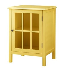 Threshold Windham One Door Accent Cabinet - Yellow