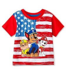 Nickelodeon Baby Boy's Paw Patrol Tee Shirt - Red - Size: 12